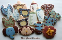 big pacifier - Baby pacifier Stainless steel big cookie mold pieces