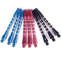 Wholesale New Aluminum Medium Darts Shafts Harrows Dart Stems Throwing Toy