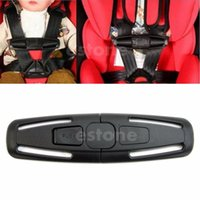 Wholesale Baby Safety Car Seat Strap Child Toddler Chest Harness Clip Safe Buckle Black order lt no track