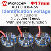 Wholesale mm V auto Identification voltage Memory Circuit Board for CREE W XR XP XT LED MM torch FLASHLIGHT driver