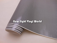 Wholesale Car Graphics Spi Vision Perforated Mesh Film Headlight Tint ROAD LEGAL VINYL Window Tint Film MOT like Fly Eye x50M Roll