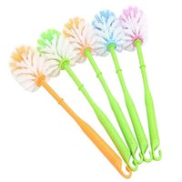 Wholesale Real New Durable Type Thickening Plastic Handle Toilet Cleaning Brush Jiece Ball Random Color