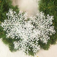 Wholesale 2015 The Best Selling Christmas Snowflakes Snow Window Decorations For Christmas Christmas Decorations cm