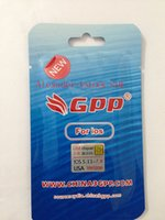 Wholesale New GPP Sim Unlock iPhone S ios5 ios6 ios ios8 GSM CDMA G GEVEY RSIM9 US ATT VERIZON SPRING AU UK ROGERS SWEDEN SPAIN GERMANY