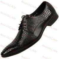 Oxfords best mens formal shoes - Best Quality Luxury Comfort geniune Leather Formal Dress Loafer Mens Fashion Shoe snakeskin wedding dress shoes
