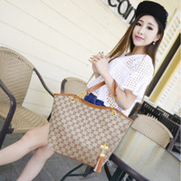 Wholesale Women Fashion shoulder Bags Vintage Tassel Women Handbag High Quality Canvas Chain Tote Shoulder Bag Bolsos Mujer