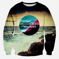 beautiful winter scenery - Fall winter new d sweatshirt hoodie print beautiful scenery pullovers casual sweat shirts tops big size fashion d outwear