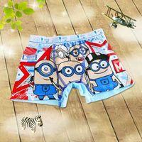 big boy underpants - 2016 New Arrive Underwear Cotton Children s Short Boxer Panties Mixed More Designs Big Boy Underpants Cartoon Boxer