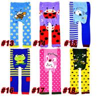 Leggings & Tights Unisex Spring / Autumn 18 kinds of cartoon Baby PP Pants PP Warmer Toddler Leggings Toddler Pants Cartoon Trousers Tights Pant 2103008