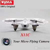 télécommande TOP qualité jouets SYMA X11C X11 avec quadcopter hélicoptère drone de caméra HD 4CH 2.4G