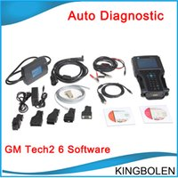 Wholesale High Quality GM tech Scanner with Candi Moudle GM Tech2 support software GM Opel Holden Suzuki Isuzu Diagnostic tool DHL