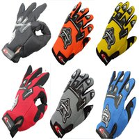 hunting wear - 201410 FOX Bicycle riding gloves Sport gloves outdoor multifunctional gloves full finger Cycling Gloves Sports wear Christmas Gift A401X