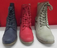Wholesale Ladies Boots No Shoes Warrior Blue Coral or Natural Combat Military Boot