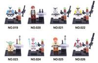 admiral star wars - Star Wars Yoda Sith Trooper Admiral Ackbar Building Blocks Minifigure Legoland Model DIY Bricks Toys Figures sets