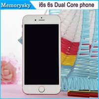 android cell phone 4g - i6s s inch Dual Core MTK6572 cell Phone Show GB B I6s Android Bean G GPS Phone call Show G dual camera Smart Phone