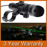 Wholesale Super Power Tactical Strike Head Adjustable Green Laser Sight Scope With Mounts for Outdoor Rifile Pistol Handgun Air Gun order lt no track