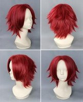 Wholesale Discount Cosplay Anime Wigs Short Man s Fashionable Cosplay Hair Best Selling Heat Resistance Long Synthetic Hair CB031
