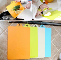 Wholesale Kitchen supplies flexible classification of antibacterial Wear resisting soft chopping board can hanging Cutting board
