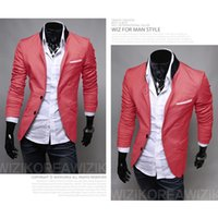 Wholesale autumn winter blazers casual suit and coats colors button jacket terno masculino for man male men s sport brand z8