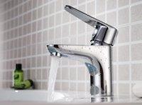Wholesale basin faucet Single Handle Modern Chrome Bathroom Vessel Sink Lavatory Basin Faucet Mixer Tap G7022