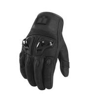 al por mayor amarillo guantes de moto negro-Al por mayor-ciclo del envío libre que compite con los guantes de cuero guantes de moto / guantes coldproof Todoterreno / Guantes Moto Amarillo / Negro