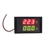 Wholesale Digital LED Voltage Meter Ammeter Voltmeter with Current Transformer AC80 V A Dual Display