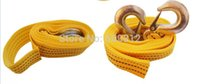 Wholesale 2014 New Fashion Tow rope Tons Small car trailer rope trailer belt traction rope meters Tow Strap with nylon