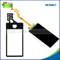 Wholesale LCD for iPod nano th touch screen digitizer touch panel Original new