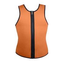 Wholesale Men s Control Tank Top Sport Corsets Vest Shapewear Ultra Sweat Reversible Ultra Sweat A008