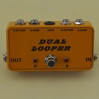 Wholesale New Looper Guitar Loop Pedal Board True Bypass Effects