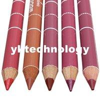 Wholesale Professiona Lip Liner Pencil Colors Wooden Lipliner Waterproof Nature Long Lasting Makeup Cosmetic Tool