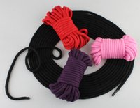 Wholesale Seat Belt Alternative Toys Sm Sex Flirting Bold Cotton Rope Tied cm Comfortable And Not Hurt The Body Taste Bundled Supplies