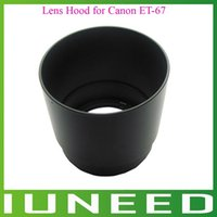 Wholesale 01F244 High Quality New ET Camera Bayonet Mount Lens Hood for Canon EF mm f Macro USM quality first