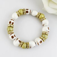 Cheap Delicate Link Chain Adjustable Simulated-pearl Bracelets For Party Wholesale 2014 Fashion