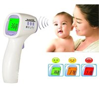 thermo - Top Selling Baby Adult Digital Thermometer Multi Function Non contact Infrared Forehead Body Thermo meter Gun LCD Three color