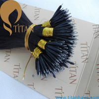 Wholesale remy brazilian human hair pre bonded hair extension nano ring hair extension