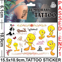 bee flash - Flash Tatoo Tatouage Tatuagem All x10 cm Cat Bees Little Duck Dog Tattoo Sticker Temporary Stickers