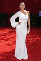 Cheap white Evening Dresses Best Kim Kardashian Dress