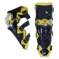 Wholesale Motorcycle Armors Brand New High quality Motorcycle Knee Protector Solid Racing Knee Pad Moto Bicycle Armors