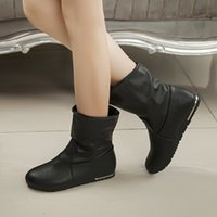 ash wedge boots - Flat winter boots women s boots in England fall short boots motorcycle boots winter shoe ASH