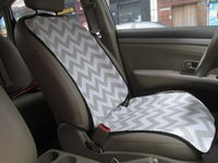 Wholesale Blanks Chevron Car Seat Cover comfortable Front Seat Protector for Single Seat car seat cover DOM103142
