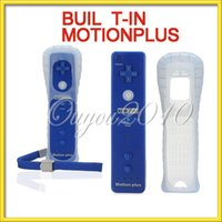 Wholesale Deep Blue Built in Motion Plus Remote Wireless Controller Silicone Case Hand Strap For Nintendo for Wii Console FreeShipping
