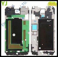 Wholesale 100pcs by DHL Original Front Middle Frame Housing For Samsung Galaxy S5 i9600 Bezel Plate Tracking Number
