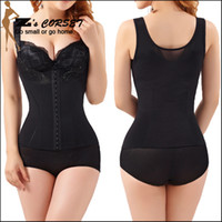 Wholesale Womens Body Shaper Black Beige Waist Trainer Corset Vest Shaperwear For Women Plus Size Waist Training Vest Hot Shapers