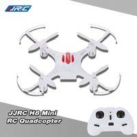4ch - Hot Original JJRC H8 Mini Drone G CH Axis RTF RC Quadcopter Degree Roll CF mode One Press Return professional drones DHL RM3255