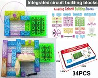 Wholesale 115 projucts DIY Kits Integrated circuit building blocks Educatioal learning toys plastic model kits Science kids toys