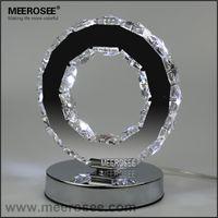 Wholesale LED Crystal Ring Table Light LED Reading Light Bedside Table Light Desk Lamp