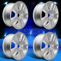 Wholesale Hot PC Set x Alloy Car Wheels Rim Silver Fit For Chevrolet Silverado Texas offset USA Stock