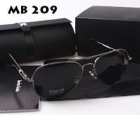 Wholesale Fashion MB209 Polarized Men Driving Sunglasses For Man UV400 Brand Design Sun Glasses Oculos De Sol Gafas MB