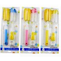 Biberons Sucettes + + Pailles Clean Brush 5 morceaux mis en gros Outils de nettoyage éponge et alimentation PP Matériau Hot Commodities bébé